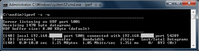 What are iperf, jperf and xjperf? How to use them to test network