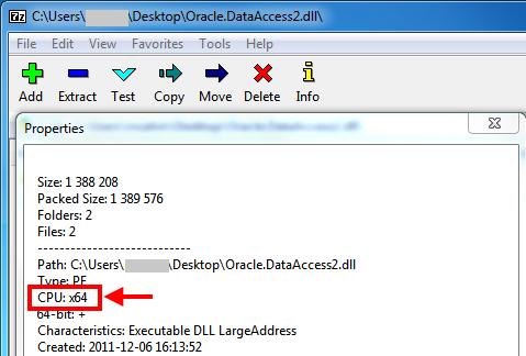 7-zip processor info dll exe