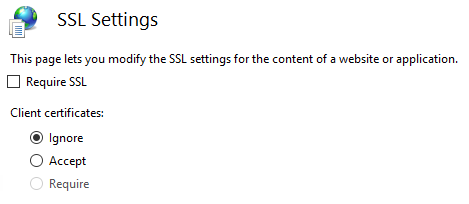 SSL settings to redirect HTTP requests to HTTPS by using IIS URL Rewrite